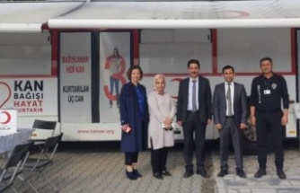 Atatürk İlkokulu'nda Kan Bağışı Kampanyası