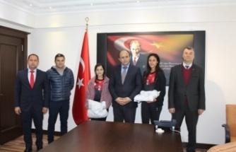 Kaymakam Erdoğan, Dereceye Giren Öğrencileri Ağırladı