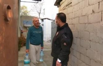 Çine Polisi İhtiyaç Sahiplerinin Yardımına Koştu