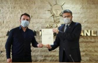AK Parti Çine İlçe Başkanlığına Çakır Atandı