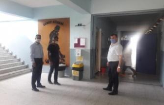 İlçe Milli Eğitim Müdürü Üstündağ, LGS Hazırlıklarını Yerinde İnceledi