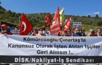 Kömürcüoğlu Madencilik İşçilerin Direnişi 18'inci Gününde