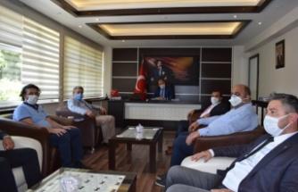 MHP Aydın İl Başkanı Alıcık'tan Çine ziyareti
