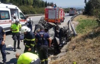 Trafik Kazasında Mehmet Özkaya Hayatını Kaybetti