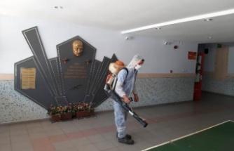 Çine Belediyesi Okulları Dezenfekte Etti