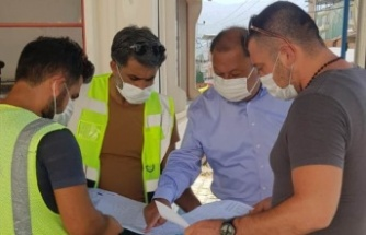 Başkan Dinçer, doğalgaz çalışmalarını inceledi