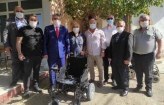 MHP Çine'de tekerlekli sandalye desteği