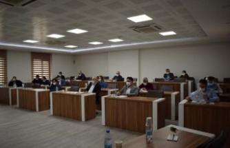 Çine Belediye Meclis'inde bu yılın son randevusu