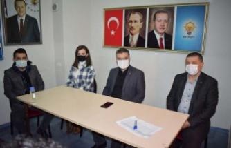 AK Partili Özmen'den Çine Teşkilatı'na ziyaret
