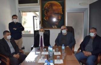 """Başkan Celal Özden, """"Esnafa faizsiz kredi desteği talebi"""""""