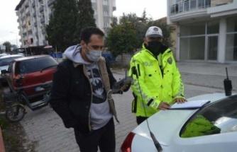 Çine'de Havadan Trafik Denetimleri Devam Etmektedir