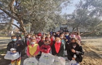 Çineli çocuklara giyecek yardımında bulunuldu