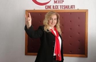 MHP Çine Kadın Kolları Başkanı İstifa Etti