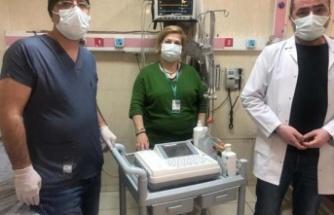 Çine Devlet Hastanesi'ne EKG cihazı bağışlandı