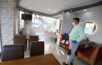 Efeler Belediyesi Kapılarını Yeniden Açan İşletmelerde Önlem Alıyor