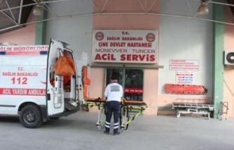 Çine'de bir kişi darp edilerek hastane önüne bırakıldı