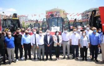 Aydın Büyükşehir Belediyesi'nden 22 milyonluk iş makinesi