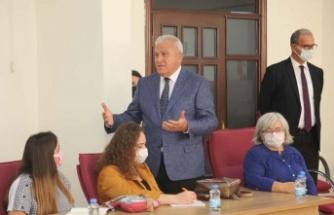 ADÜ'lü Öğrencilerden Başkan Atay'a Ders Ziyareti