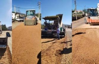 Aydın Büyükşehir Belediyesi Yol Yapımında Kente Çağ Atlatıyor