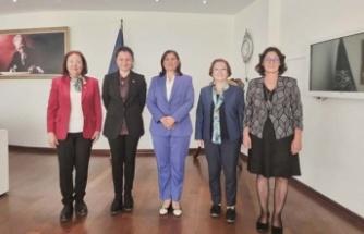 CHP Kadın Kolları Başkan Çerçioğlu'nu Ziyaret Etti