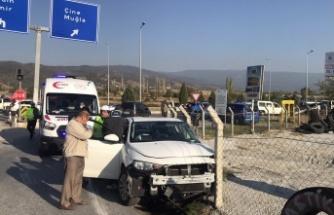 Çine'de kaza: İki yaralı