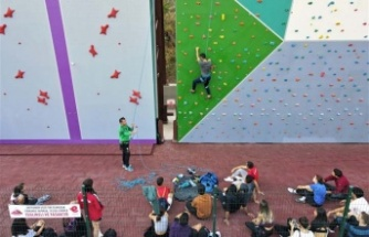 Efeler'in Tırmanma Duvarı Besyo Öğrencilerini Ağırladı