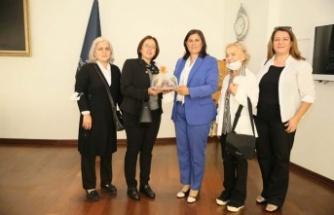 Türkiye Emekli Astsubaylar Derneği'nden Başkan Çerçioğlu'na Ziyaret