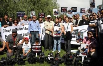 Gazetecilerden Suriye'ye Ünal ve Kadumi çağrısı