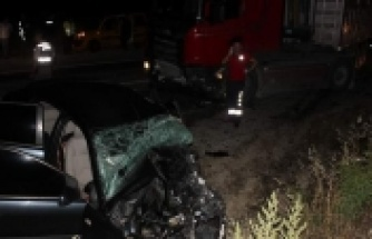 Karpuzlu'da katliam gibi kaza! 4 ölü, 1 yaralı