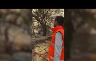 Aydın Büyükşehir Belediyesi İtfaiyesi Marmaris'te Ateşle Mücadele Ediyor