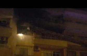Kömür sobası evi yaktı-2