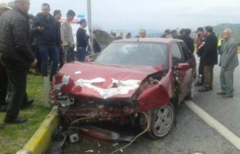 Çine'de Düğün Konvoyunda Kaza: 5 Yaralı