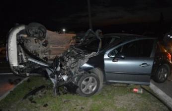 Çine'de Kaza; 8 Yaralı