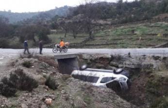 Servis Aracı Yoldan Çıktı, Facia Ucuz Atlatıldı