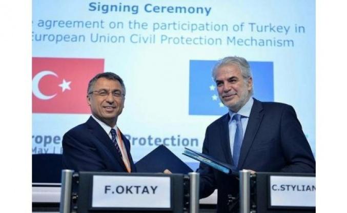 Türkiye, Avrupa Birliği Sivil Koruma Mekanizmasına Resmen Üye Oldu