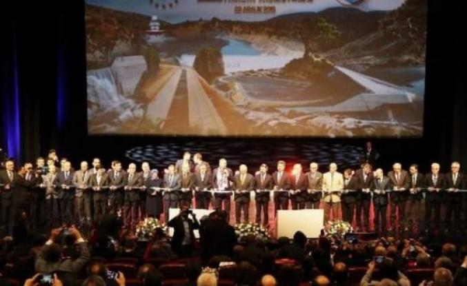Aydın'ın da yer aldığı 151 dev eser hizmete açıldı