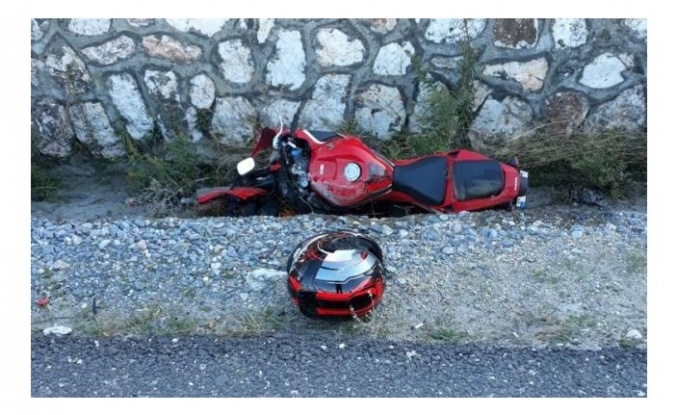 Çine'de Motosiklet Kazası: 1 Ölü