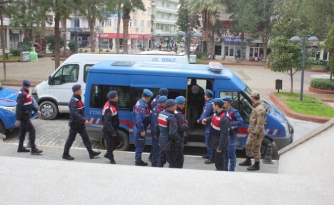 Çine'de 8 Gözaltına 2 Tutuklama