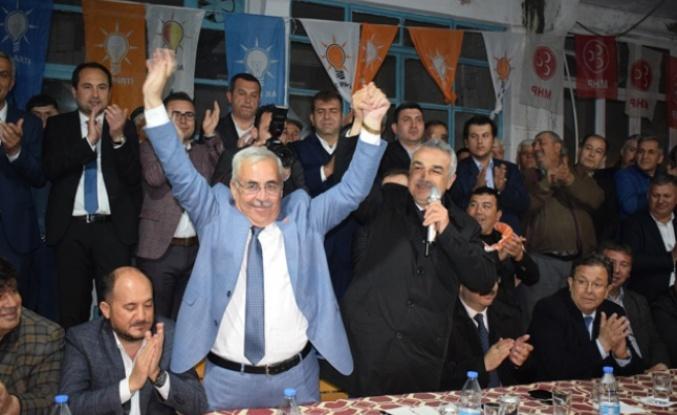 Cumhur İttifakı adaylarına Kahraman Mahallesini Ziyaret etti