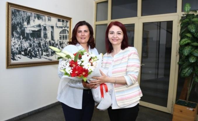 Aydın Gazeteciler Cemiyeti'nden Başkan Çerçioğlu'na Ziyaret