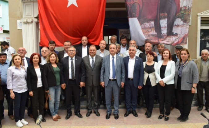 CHP heyetinden Başkan Dinçer'e tebrik ziyareti