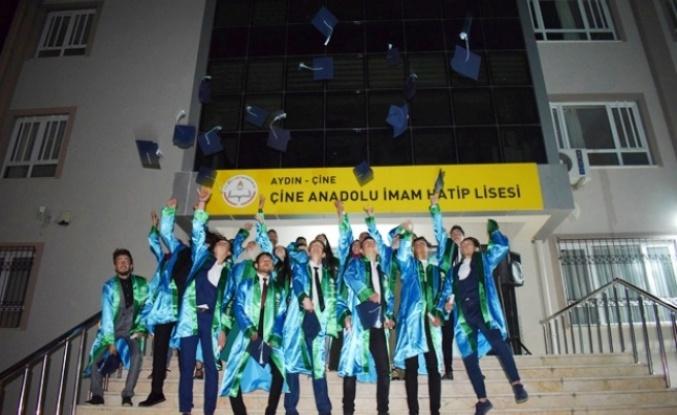 Çine Anadolu İmam Hatip Lisesi Mezuniyeti ve İftar Yemeği