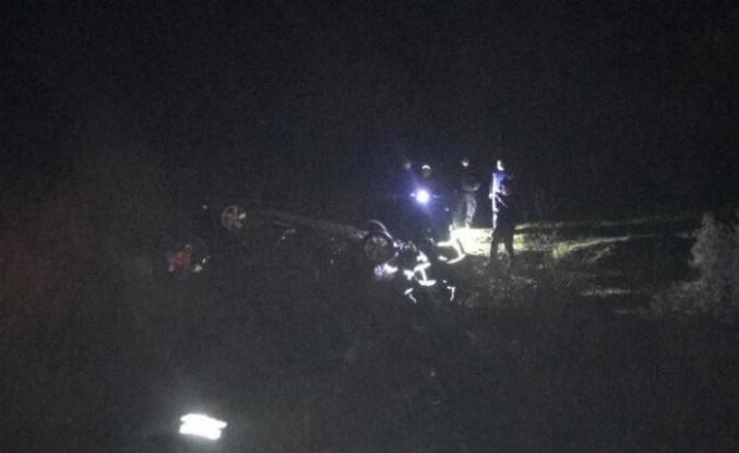 Karpuzlu'da Tek Taraflı Kazada; 1 Ölü 2 Yaralı