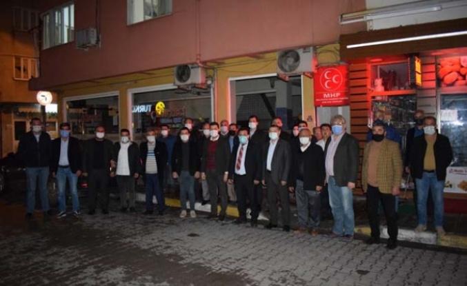 AK Parti İlçe Yönetiminden MHP'ye İadeyi Ziyaret