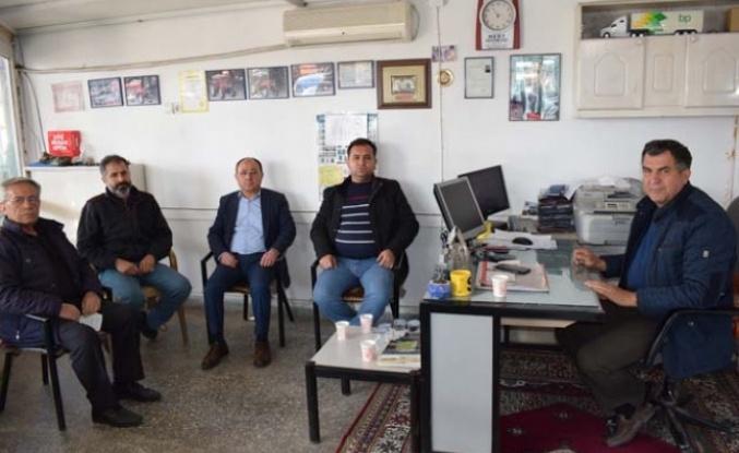 MHP İlçe Teşkilatı Nizamettin Kurt'u ziyaret etti