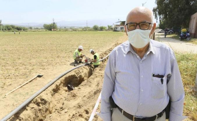 Aski Çöğürlük Mahallesi'nin İçme Suyu Hattını Yeniliyor