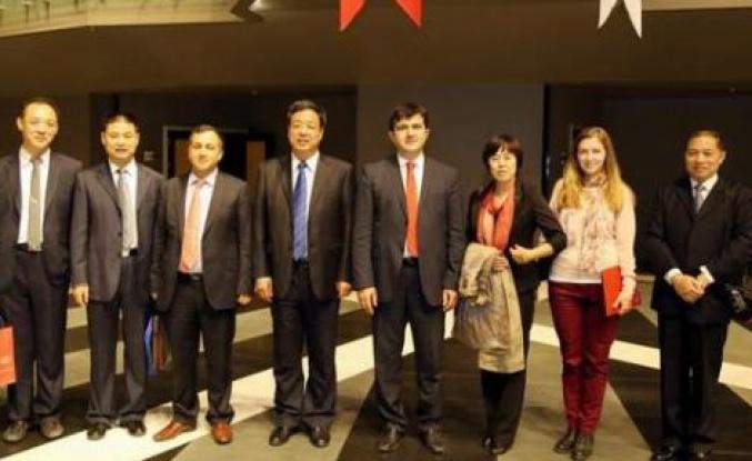 Çin Halk Cumhuriyeti Gazeteci Heyeti Türkiye'de