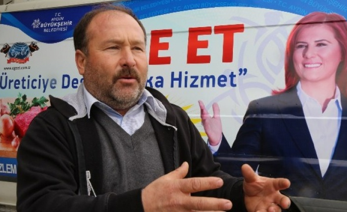 Aydın Büyükşehir Ege ET'le Üreticiyi Destekliyor
