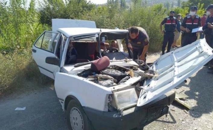 Karpuzlu'da kaza; 4 yaralı