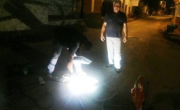 Çine Belediyesi, kanal ızgaralarını değiştirdi